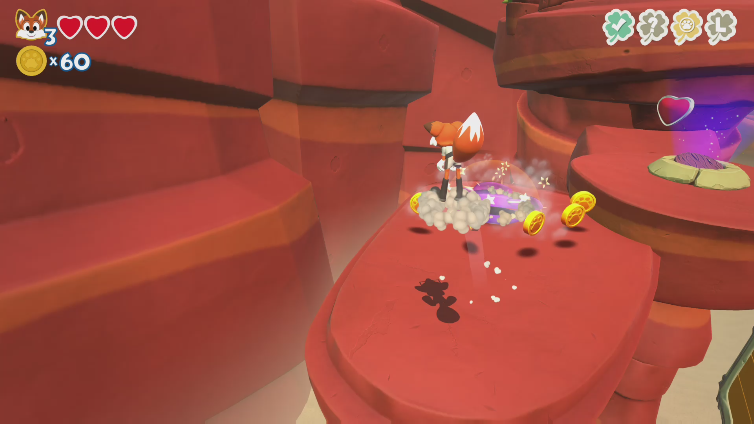 TechNoir3D playing Super Lucky's Tale