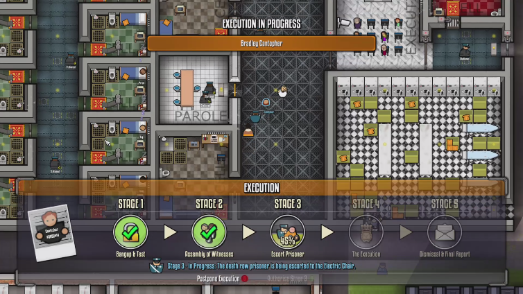 Anissu playing Prison Architect: Xbox One Edition