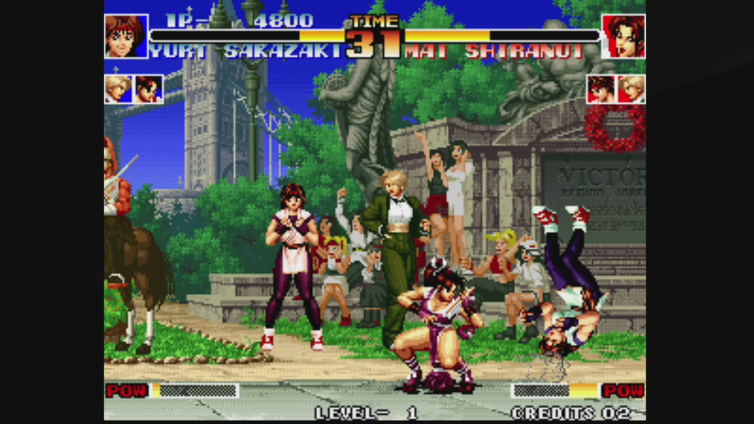 Conor x420a playing ACA NEOGEO THE KING OF FIGHTERS '94