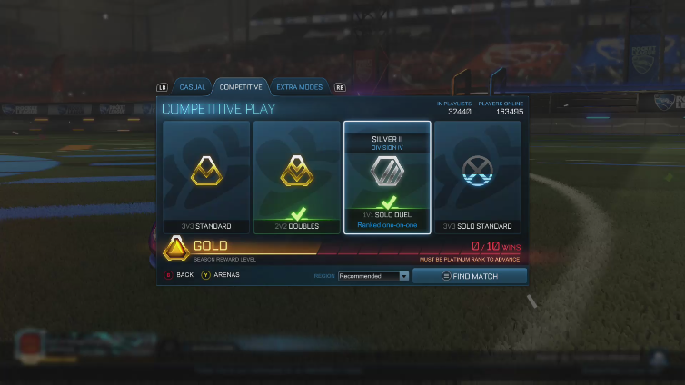 MeagerGraph6045 playing Rocket League